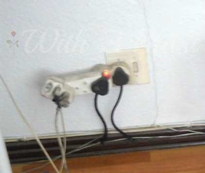 Hidden Wall Socket