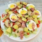Potato Bacon and Egg Salad (Fall)