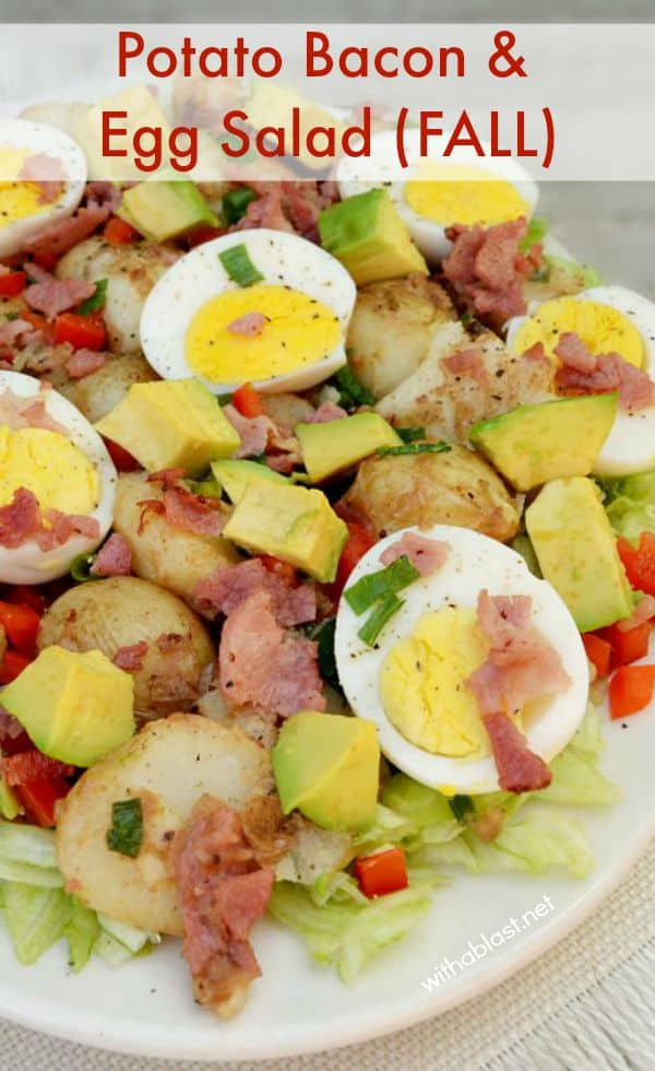 Potato Bacon & Egg Salad (Fall)