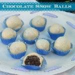 Chocolate Snow Balls