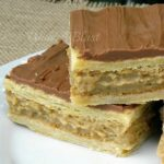 Coffee Custard Slices