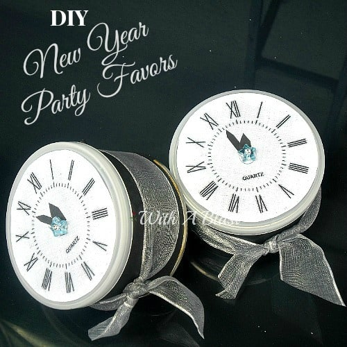 DIY New Year Party Favors www.withablast.net