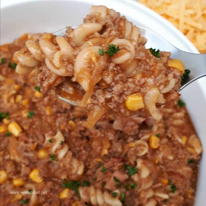 Bacon and Beef Casserole