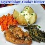 Layered Slow-Cooker Dinner