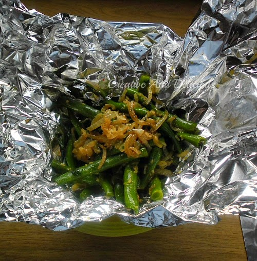 Layered Slow-Cooker Dinner ( Green Beans )