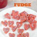 Strawberry Toffee Fudge