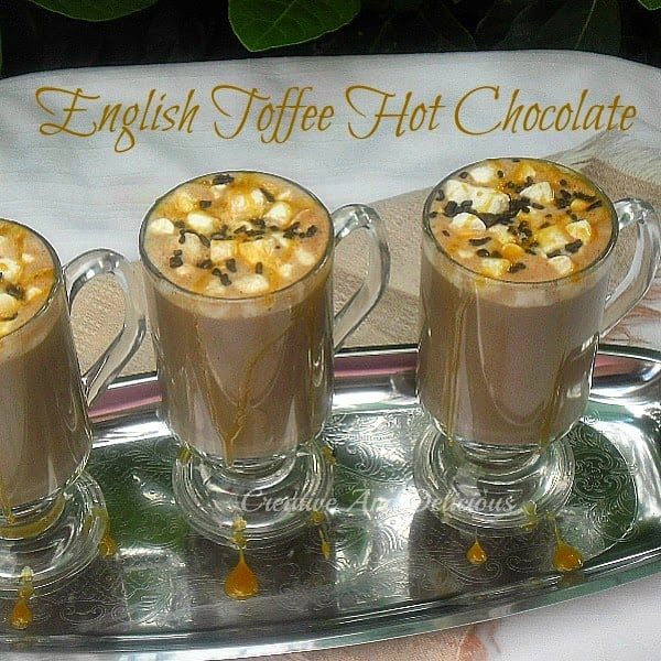 Englsih Toffee Hot Chocolate