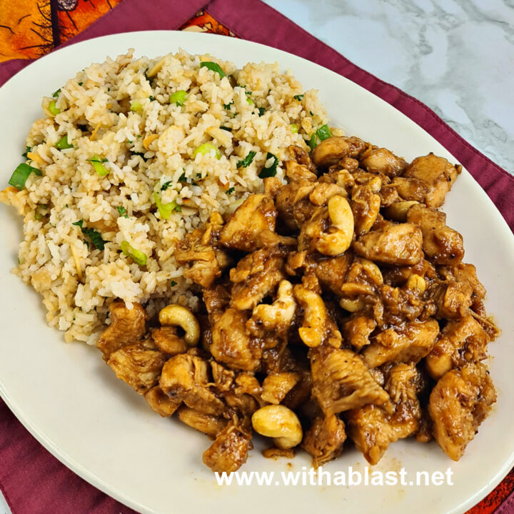 Spicy Chicken Nuggets and Eastern Rice