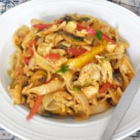 Chicken and Peppers Pasta