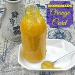 Homemade Orange Curd