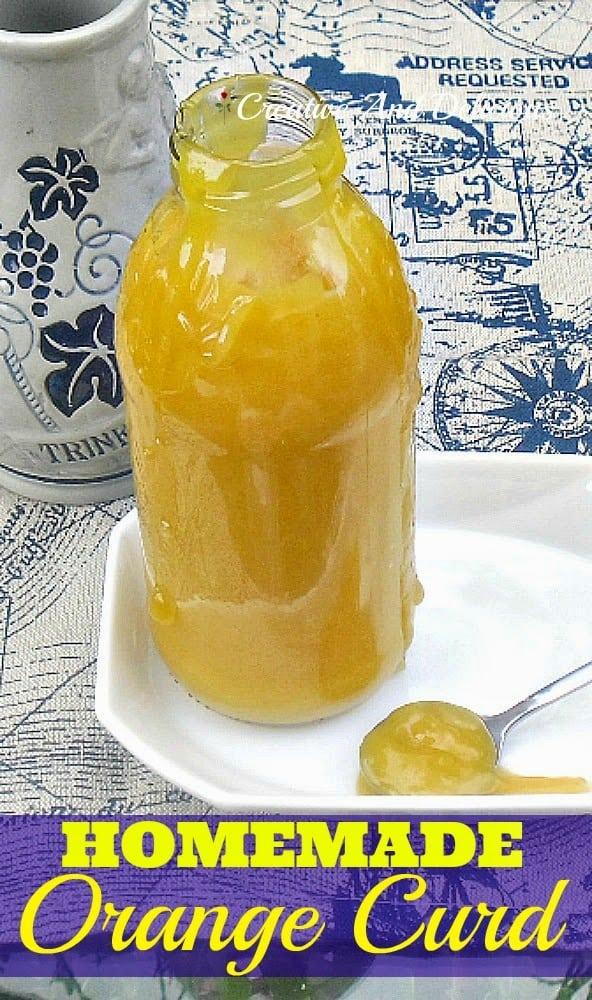 Homemade Orange Curd