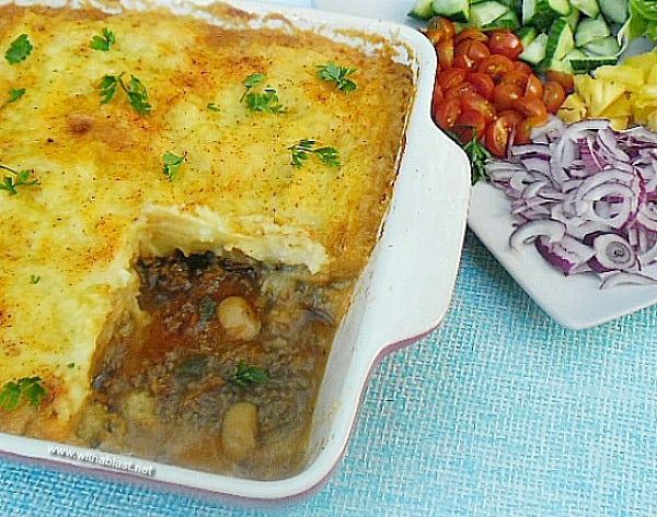 Spicy Mexican Cottage Pie