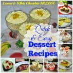 Quick and Easy Dessert Recipes