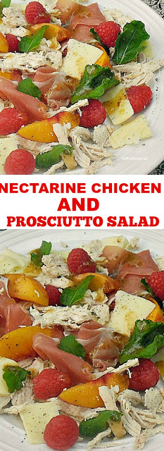 Filling, refreshing salad with a light Honey Dressing