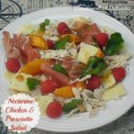 Nectarine Chicken and Prosciutto Salad