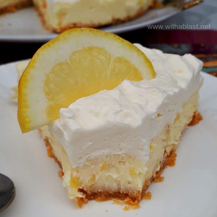 Pineapple Lemon Cheesecake Cream Pie