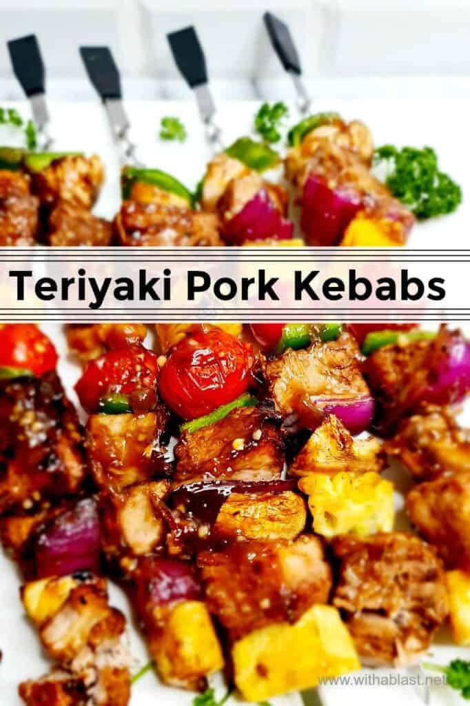 Teriyaki Pork Kebabs