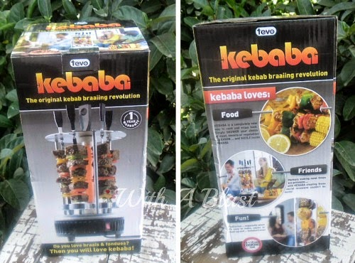 "BBQ Teriyaki Pork Kebabs recipe made using the "" Kebaba """