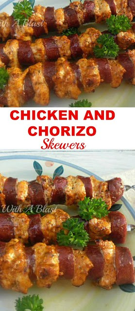 Easiest, most delicious Chicken skewers for your next BBQ {the secret is in the quick marinade!}