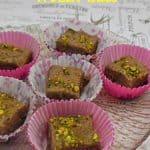 Chocolate and Pistachio Frozen Bites