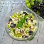 Minty Orzo and Grape Salad