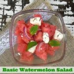 Basic Watermelon Salad
