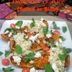 Rosemary Roasted Butternut and Rice {Salad/Side}