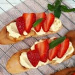 Strawberry Mascarpone Bruschetta