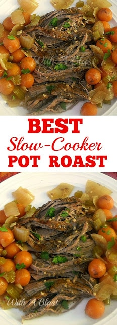 Best Slow-Cooker Pot Roast with Vegetables