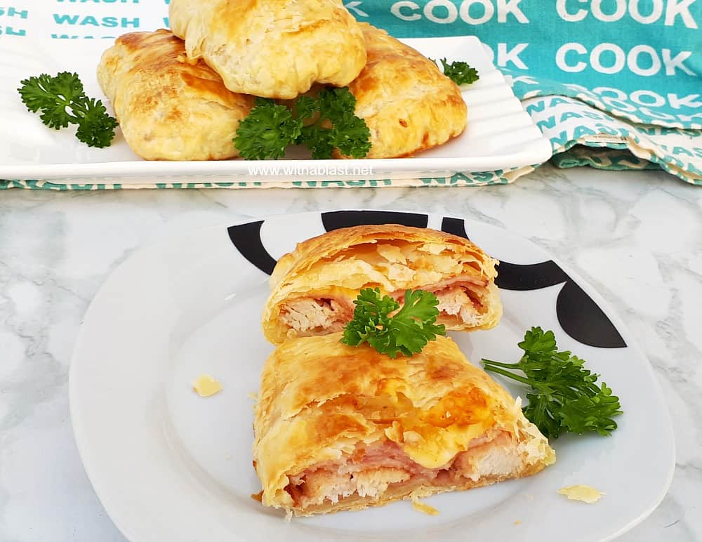 Chicken Cordon Bleu Hand Pies
