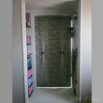 Closet Turned Bedroom Entrance