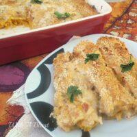 Creamy Parmesan Pumpkin Cannelloni