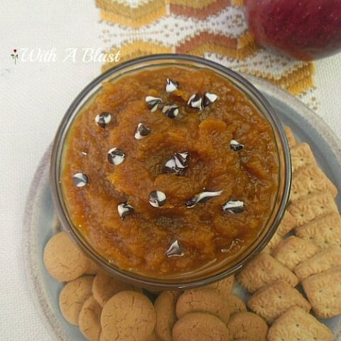 Fresh Spiced Pumpkin Dip
