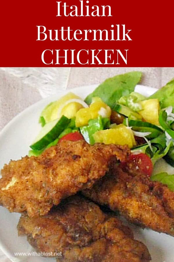 Italian Buttermilk Chicken