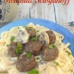 Linguine with Meatball Stroganoff