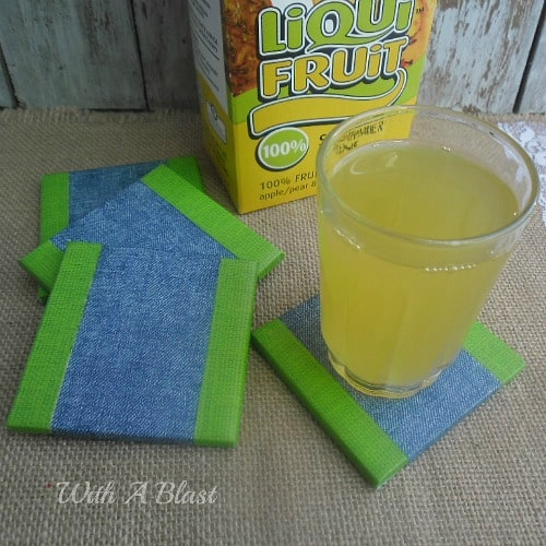 10 Minute Tile Coasters