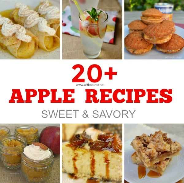 20+ Apple Recipes