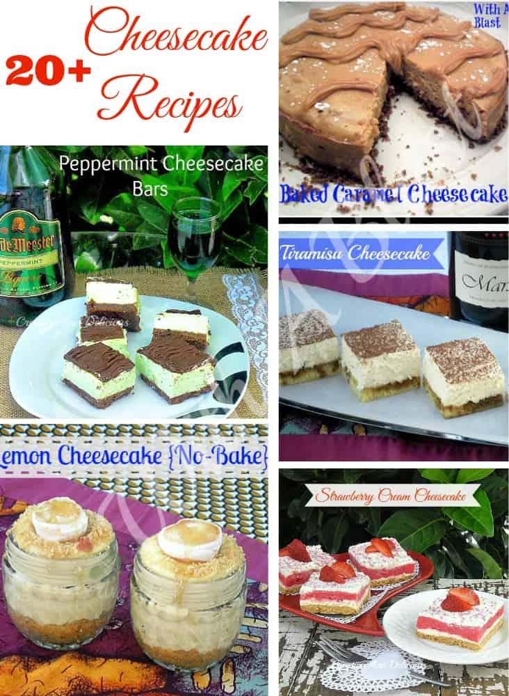 20+ Cheesecake Recipes
