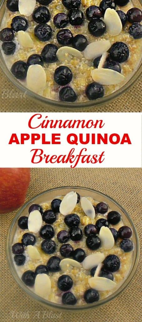 Delicious, healthy and low-fat breakfast {or have a bowl as a pick-me-up snack !}