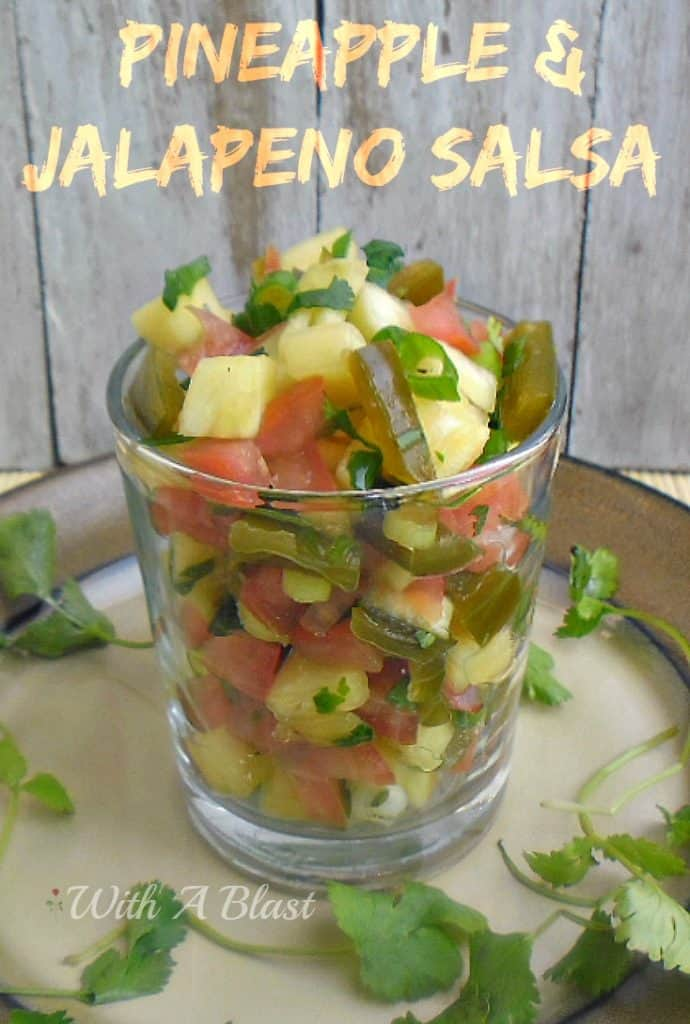 Pineapple and Jalapeno Salsa