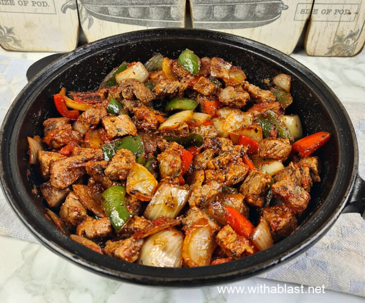 Quick Beef Tips with Vegetables