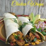 Spicy Mexican Chicken Wraps