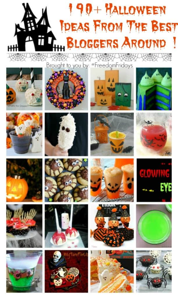 190+ Halloween Ideas Eats / treats / printables / decor