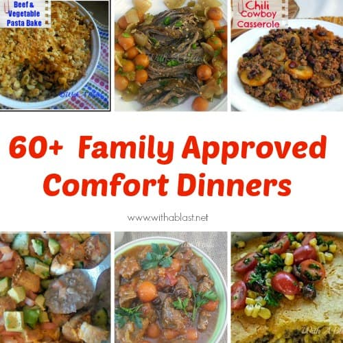 60+ Comforting Dinner Recipes