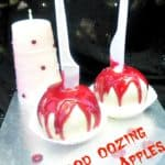 Blood Oozing Chocolate Apples