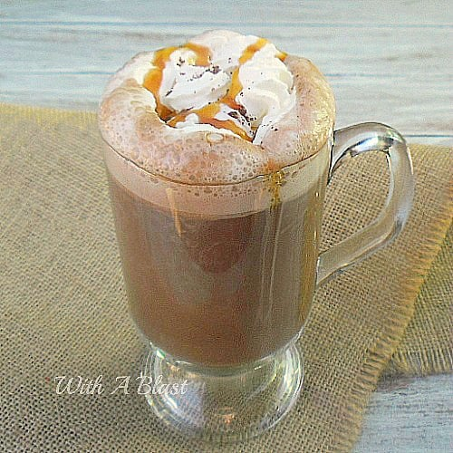 Caramel Hot Chocolate