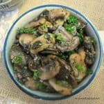 Garlic and Herb Mushrooms