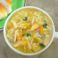 Quick Chicken Orzo Soup