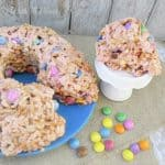 Rice Krispie and Pretzel Bundt Cake