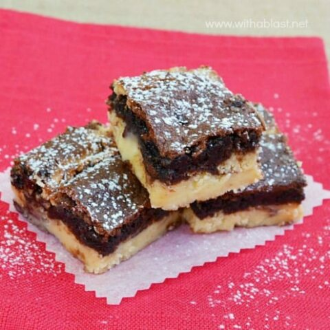 Cinnamon Cheesecake Brownies